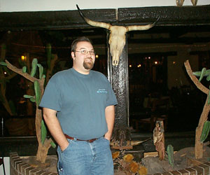 Me at Cattleman's Steakhouse
