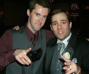 Steve and Derek