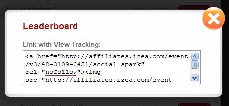 SocialSpark Ad Unit Codes