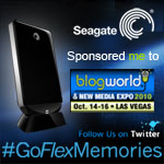 Seagate Sponsored Me to go to Blog World Expo