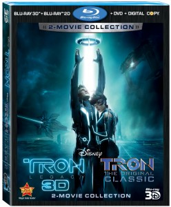 Tron 2-Movie Collection Combo art