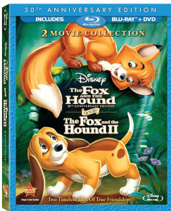 The Fox and the Hound 2 Movie Collection on BluRay