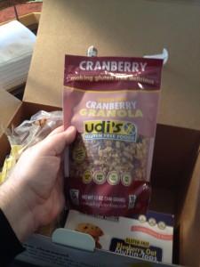 Cranberry Gluten-Free Granola