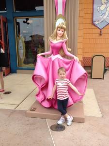 Eva posing with Aurora