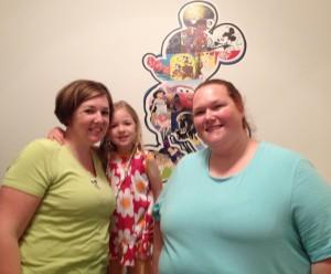 Allison, Eva and Auntie Mo