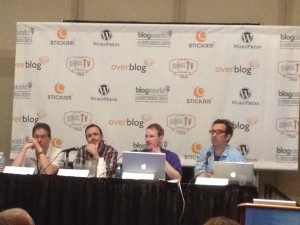 The Podcaster 101 panel at BWENY 2012