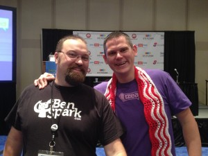 Me with Ted Murphy at BWENY 2012