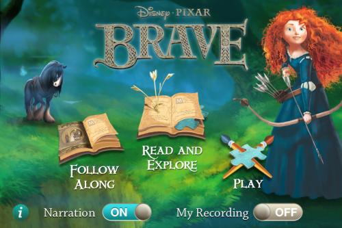 Disney Pixar Brave Storybook Deluxe
