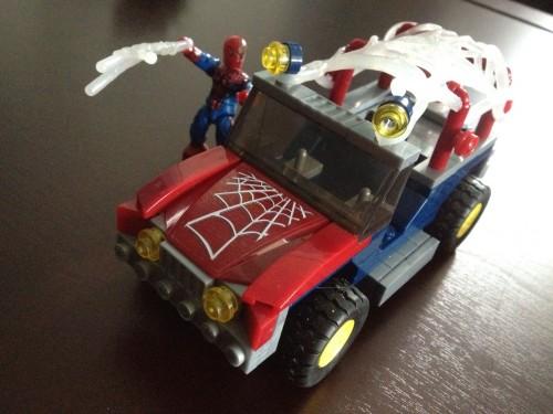 Spider-Man Jeep