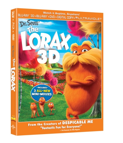 The Lorax on DVD and Blu-ray