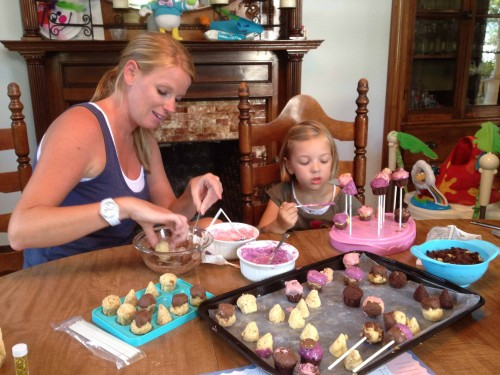 Decorating Cake Pops