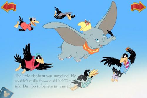 Dumbo flies