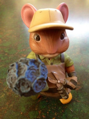George the Gardener Figurine