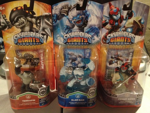 Skylanders Giants Series 2 Figures