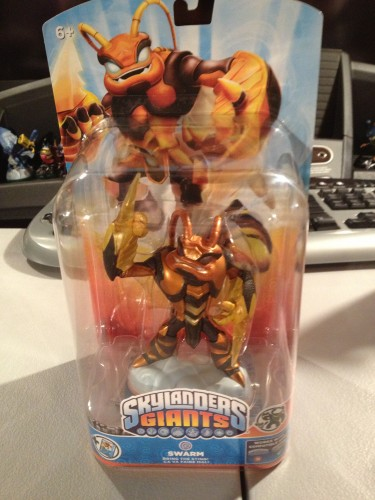 Skylanders Giants - Swarm, a new Giant