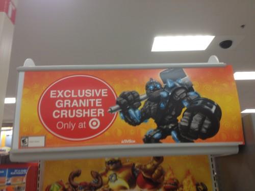 Target Exclusive Granite Crusher