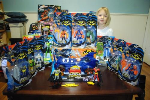 Batman Power Attack Figures