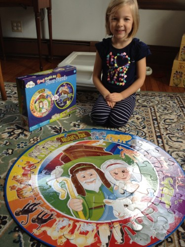 Wee Believers 2-Sided Floor Puzzle