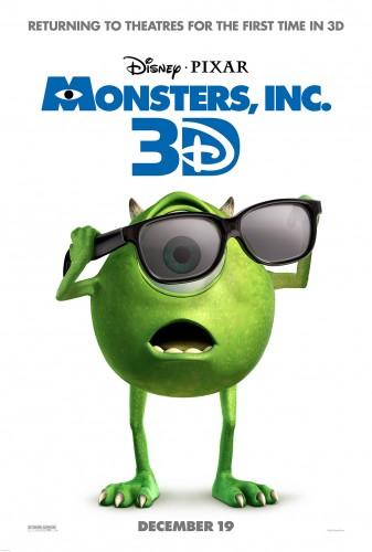 Monsters Inc, 3D