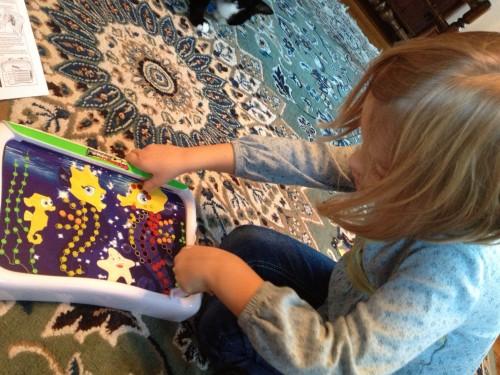 Eva using the Magna Color