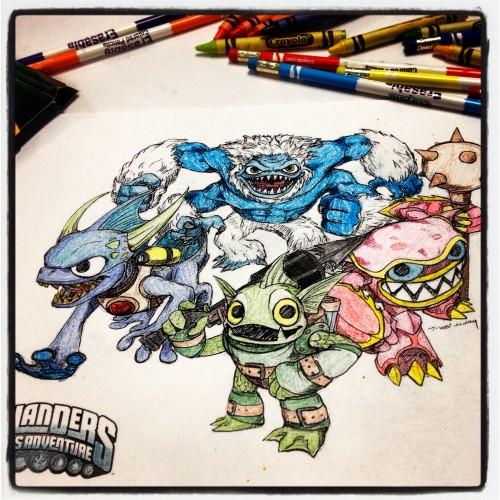 Skylanders Water Element Team