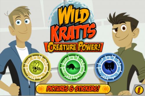 Wild Kratts Creature Power Game