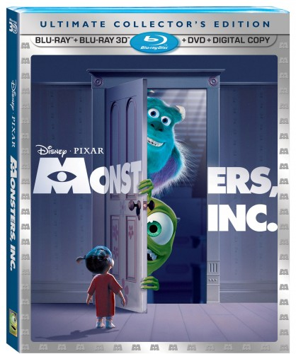 Monsters Inc Ultimate Collector's Edition Pack Shot