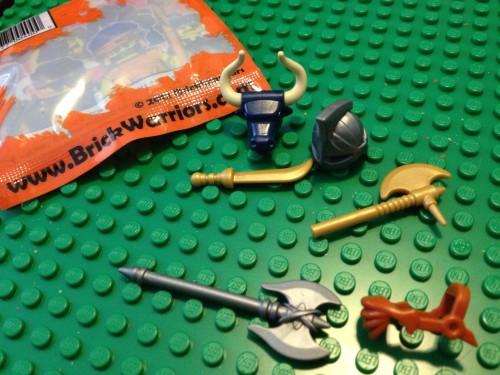 BrickWarriors.com Warrior Pack