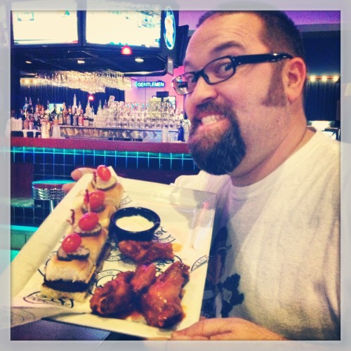 Lunch at Dave and Busters