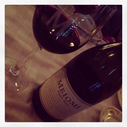 A Little Dinner Wine