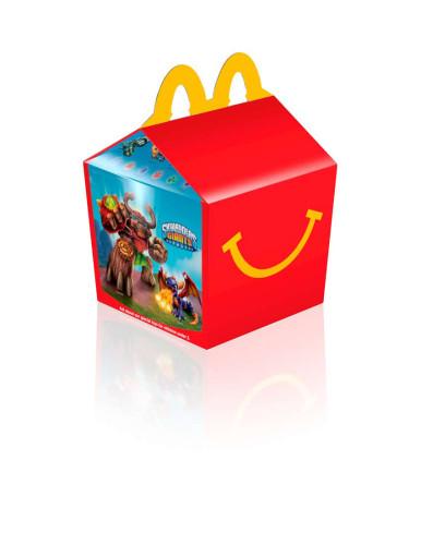 Skylanders Happy Meal Box 2