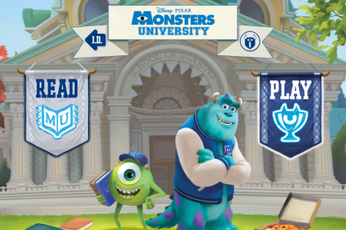 Monsters University Storybook Deluxe