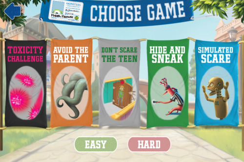Monsters University Games