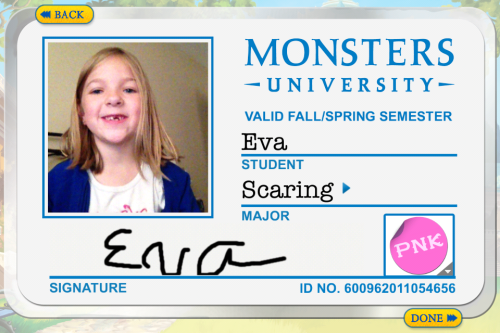 Get Your Monsters University ID