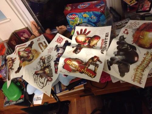 Iron Man 3 RoomMates wall decals