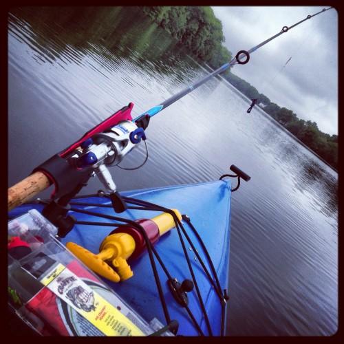 REpurposed XShot Kayak Mount