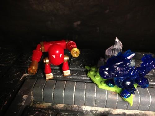 Blue Bash vs. The Arkeyan Ultron