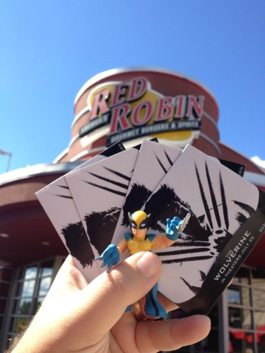 Our Red Robin Tickets