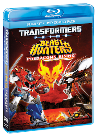 Transformers Prime Beast Hunters Predacons Rising on Blu-ray and DVD