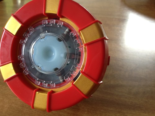 The Completed Arc Reactor on a display stand