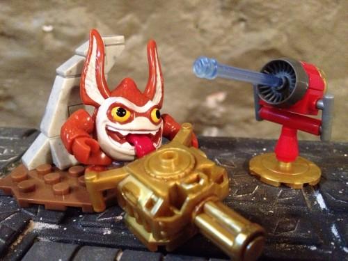 Trigger Happy and Gatling Gun with Arkeyan Defenses