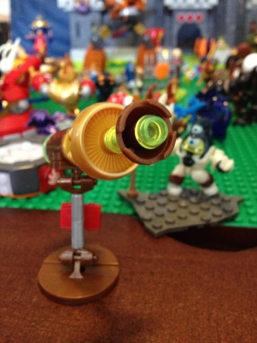 Laser and Glow-In-The-Dark Biclops