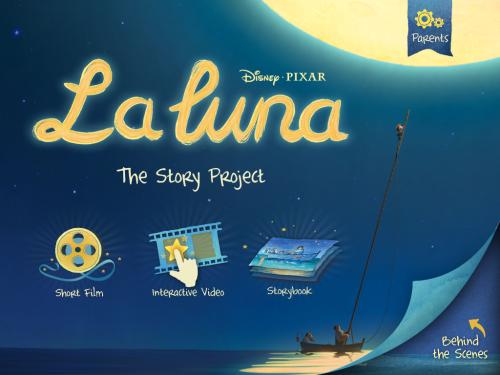 La Luna App title PAge