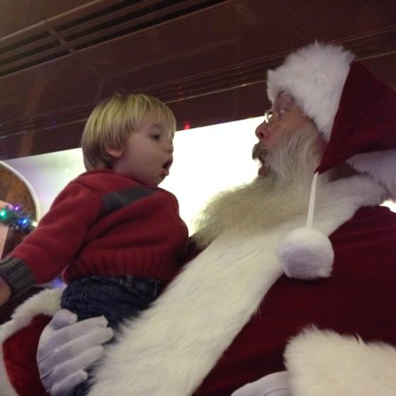 I can Roar, Santa!