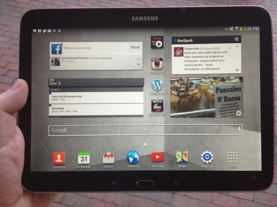 #Shop My Samsung Galaxy Tablet 3 Home Page - #IntelTablets