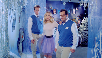 Go behind the scenes of Disney's Frozen with Josh Gad ('Olaf') and Jonathan Groff ('Kristoff')! These two have something to sing about in the bonus feature 'The Making of Frozen,'