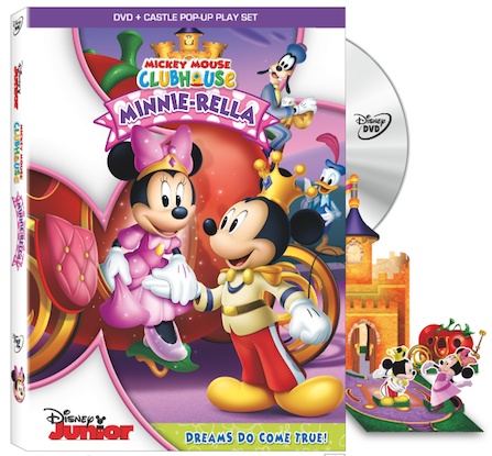 Minnie-rella DVD