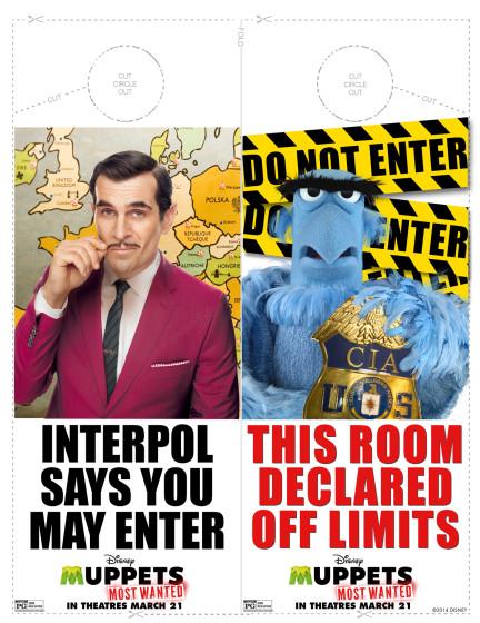 Muppets Door Hangers
