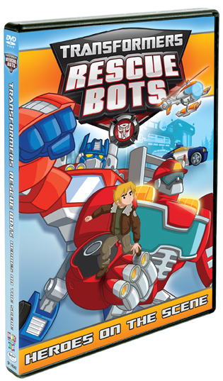 Transformers Rescue Bots Heroes on the Scene