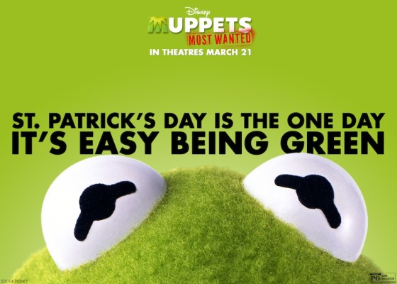 Muppets Most Wanted Saint Patrick's Day Card
